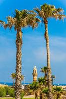 Ruins of the port of Caesarea