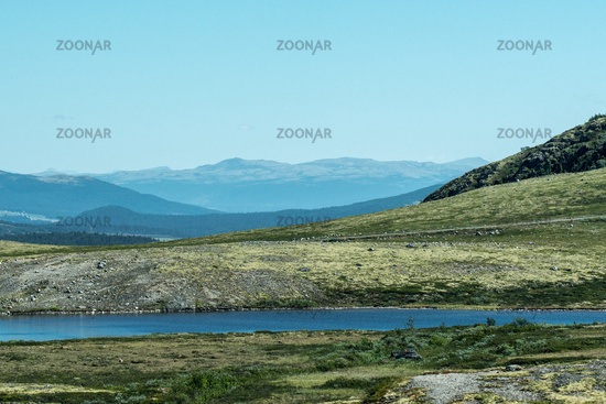 View to Rondane National Park