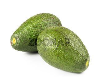 Fresh avocado isolated