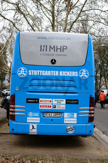 Mannschaftsbus Stuttgarter Kickers