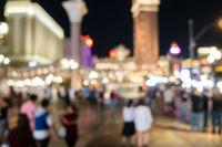 Las Vegas Blurred background night