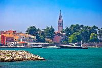 Novigrad Istarski historic waterfront and colorful harbor view