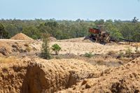 Abandoned Sapphire Diggings