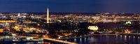 Washington DC Aerial panorama