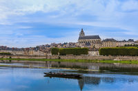 Blois castle in the Loire Valley - France
