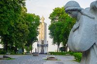 Monument victims  Holodomor Kiev, Ukraine