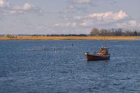 Fishing boat on the island of Ummanz