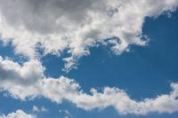 Cloudscape on blue sky
