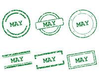 May Stempel - May stamps