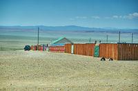 Naranbulag Mongolian village