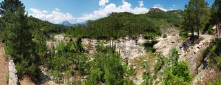 Der Fluss Solenzara - Korsika