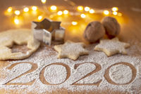 Christmas bakery and New Year's Day 2020