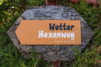 Weather Hexenweg on the Wirzweli, Nidwalden, Switzerland, Europe