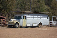 Old Bus On Gem Fields
