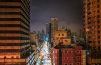 Temple Street Night Market in Hong Kong