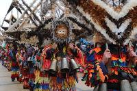 Masquerade festival Surva in Pernik, Bulgaria