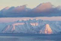 Evening mood, Stjernoeya Island, Finnmark, Norway