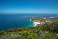Panoramic view of the Cape of Good Hope, South Africa