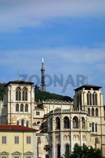 Kathedrale Saint Jean in Lyon, frankreich