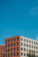 modern building facade - house exterior, real estate