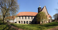 former monastery Oldenstadt with monastery church