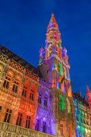 Grote Markt in Brussels Belgium