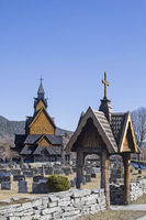 Stave Church Heddal in Telemark