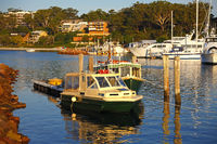 Nelson Bay marina, Port Stephens, NSW, Australia
