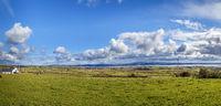 Landscape with Atlantic Ocean Bay, Ireland