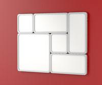White blank led panels