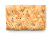 Top view of marble wheat biscuit