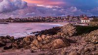 Porto Cityscape From the Beach