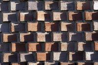 interesting brick facade