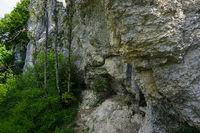swabian alps, devilstor rock