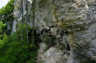 Beim Teufelstorfels im Laucherttal, Schwäbische Alb