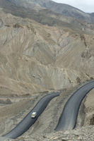 Fotula Pass roads, Ladakh, Jammu and Kashmir, India