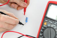 measuring an electrical component