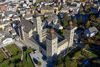 Medieval palace Stockalperpalast, Brig, Valais, Switzerland