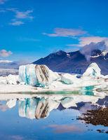 Drift ice in Jokulsarlon