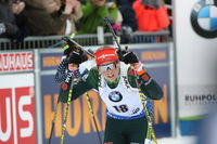 IBU Biathlon Massenstart Frauen Ruhpolding 2019
