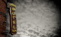 Retro Neon Motel Sign