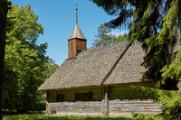 Traditional open air museum, Vabaohumuuseumi kivikulv, Rocca al Mare close to city of Tallinn in Estonia.