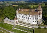 Oron castle, Château d'Oron, Oron-le-Châtel, Vaud, Switzerland