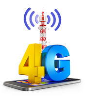 4G and  smartphone