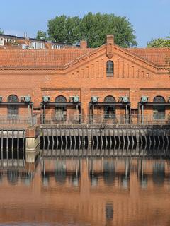 Hannover - Turbinenhaus eines ehemaligen Wasserkraftwerks, Deutschland
