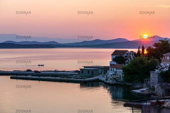 Sunrise in Croatia