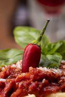 Rigatoni Pasta mit Tomatensauce