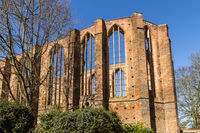 ruin of St. John's Abbey (the Johanniskloster), Stralsund, Germany