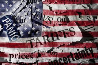 Tariffs and US flag