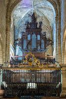 Colegiata church of Santa Juliana in Santillana del Mar, Cantabria, Spain.